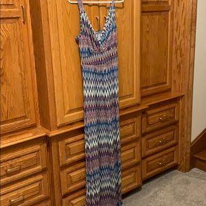 Chevron Loveappella Maxi Dress